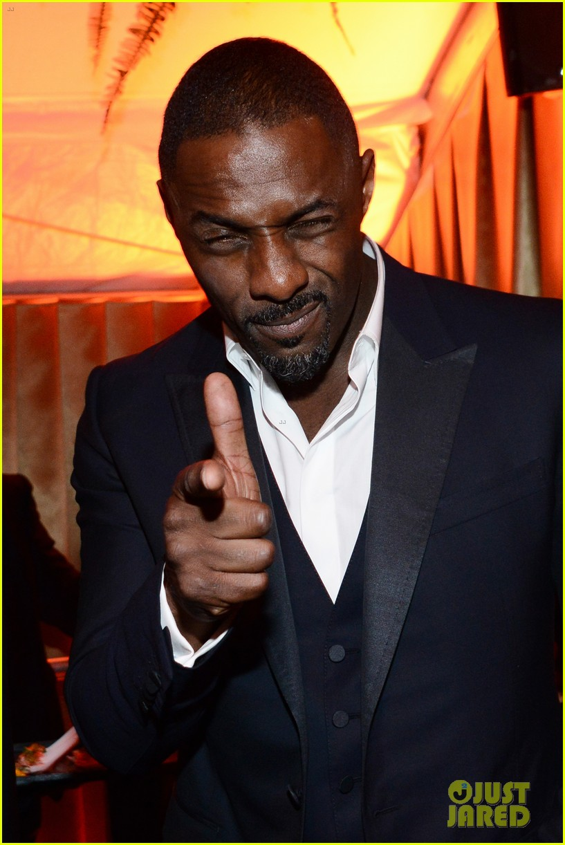 idris elba pregnant girlfriend naiyana garth golden globes 2014 02
