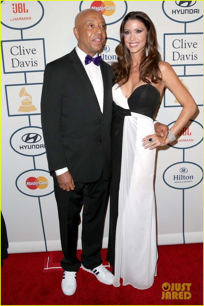 shannon elizabeth russell simmons new couple at grammys party 09
