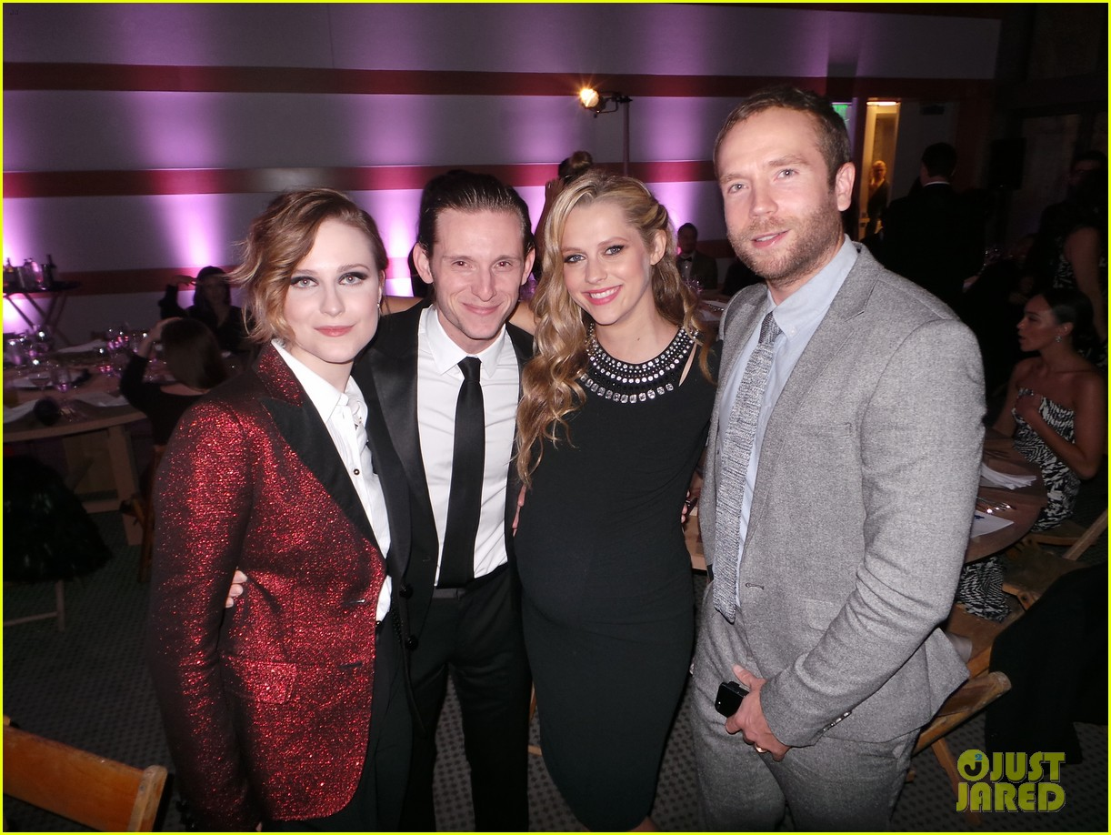 evan rachel wood jamie bell art of elysium heaven gala 06