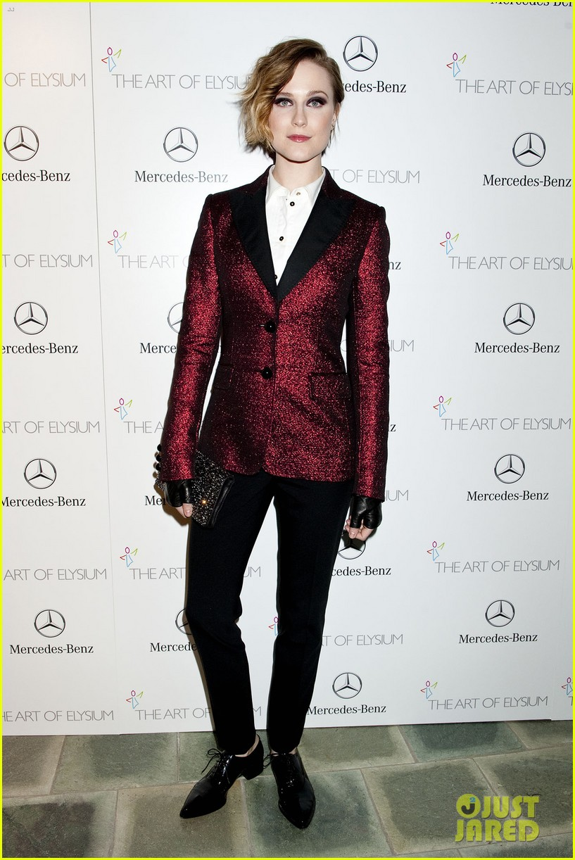 evan rachel wood jamie bell art of elysium heaven gala 20