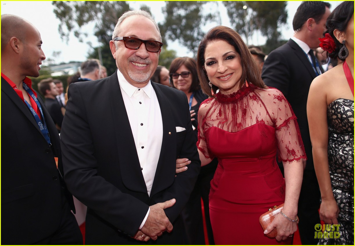 gloria estefan stevie nicks grammys 2014 red carpet 06