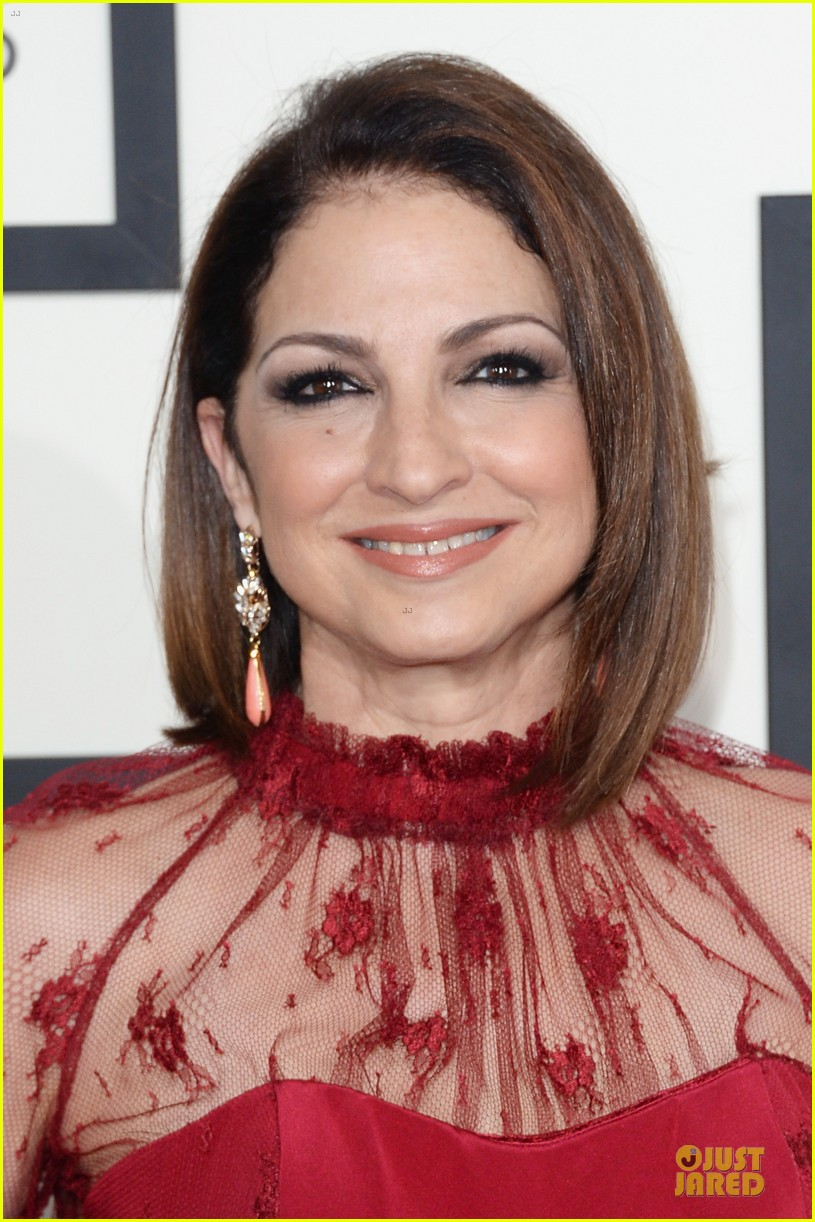 gloria estefan stevie nicks grammys 2014 red carpet 123041633