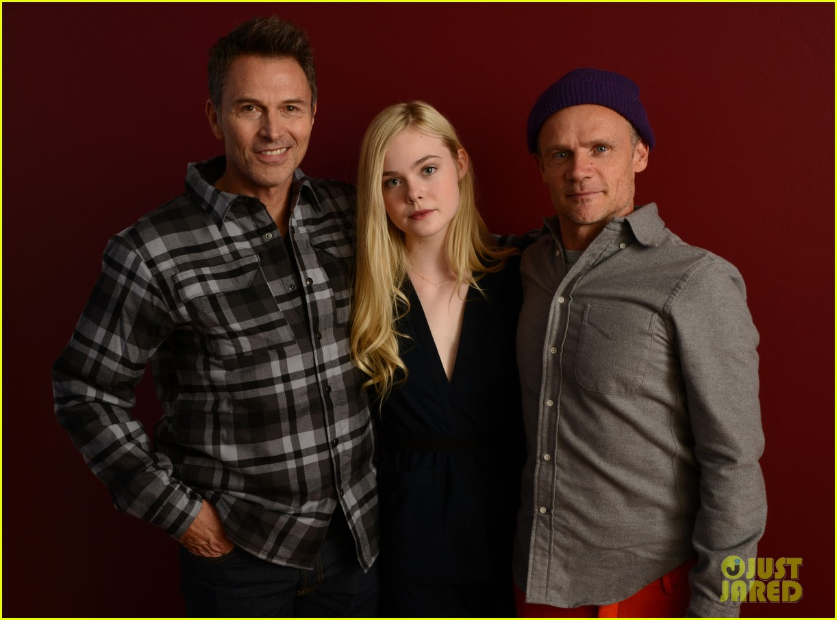 elle fanning aaron paul meet up at varietys sundance studio 093036622
