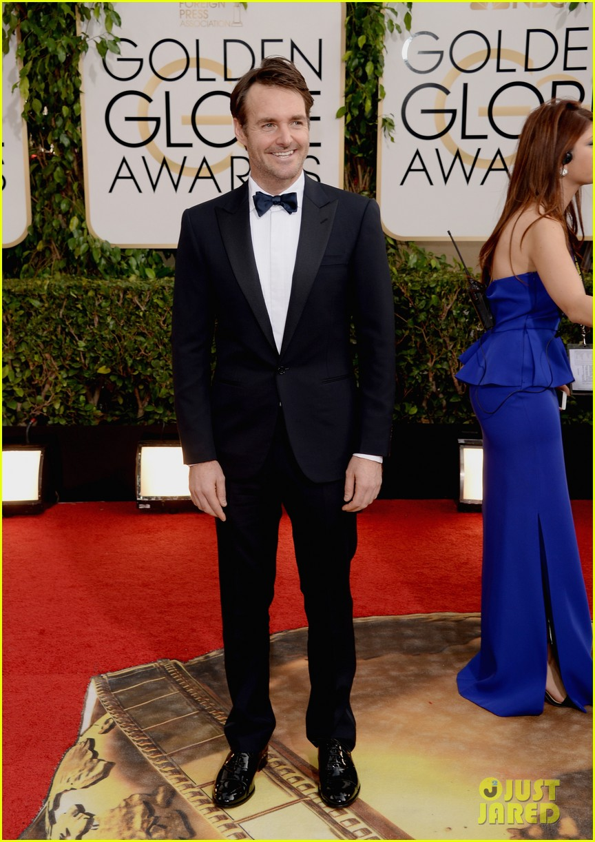 will forte golden globes 2014 red carpet 013029536