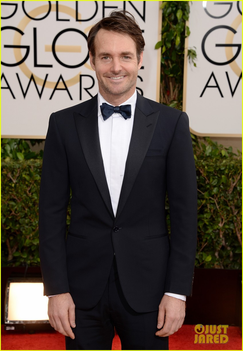will forte golden globes 2014 red carpet 02