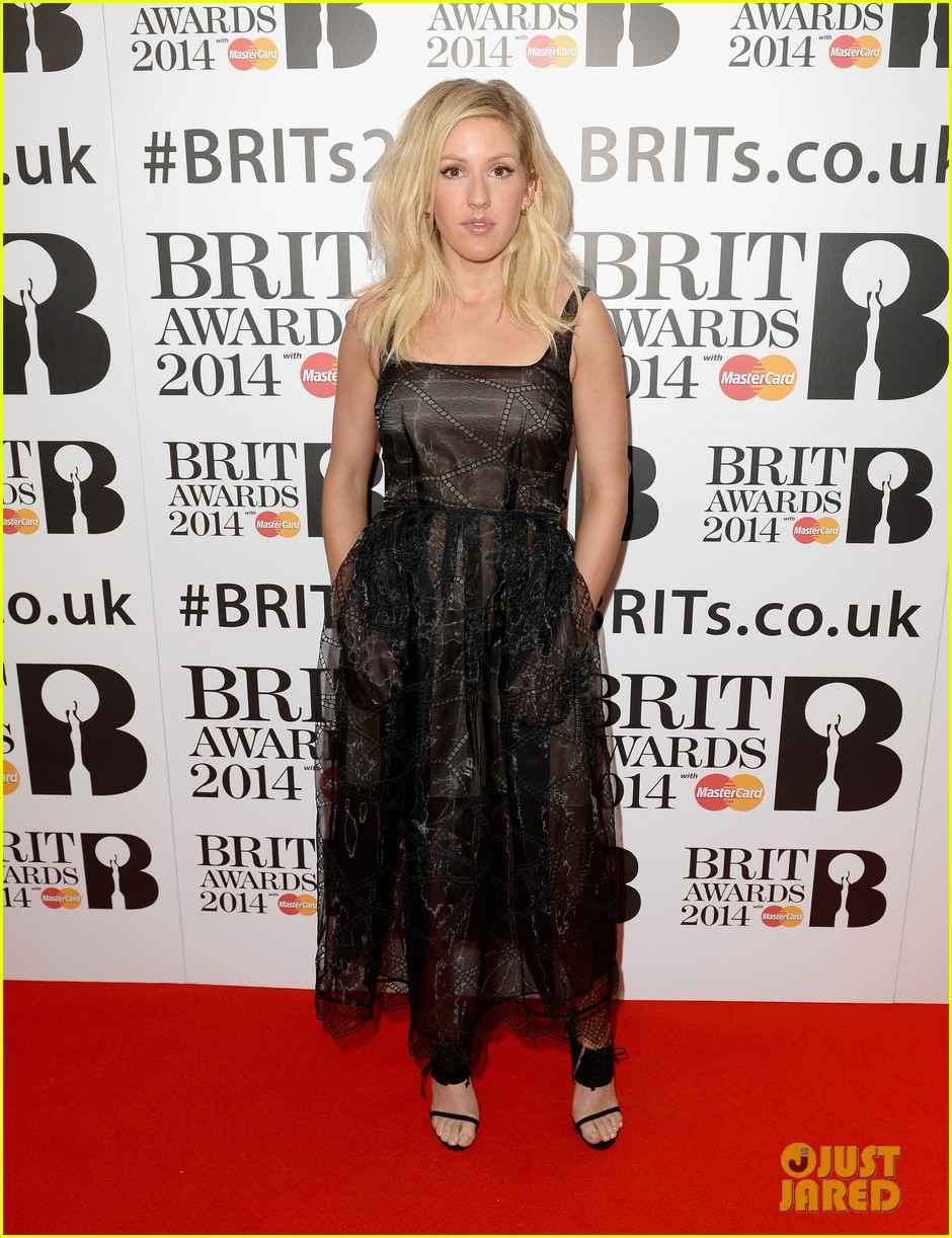 ellie goulding brit awards nominations ceremony 12