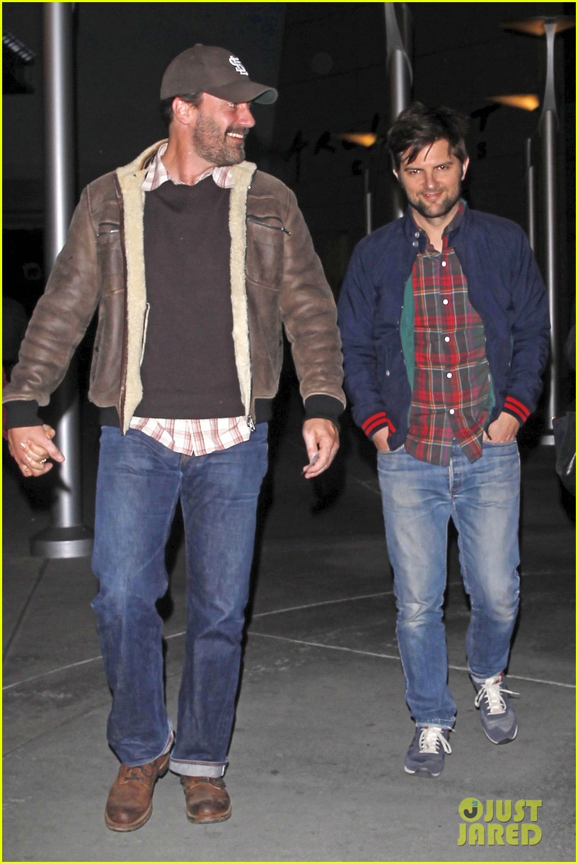 jon hamm jennifer westfeldt double date with adam scott 01