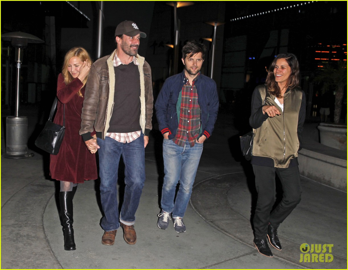 jon hamm jennifer westfeldt double date with adam scott 09