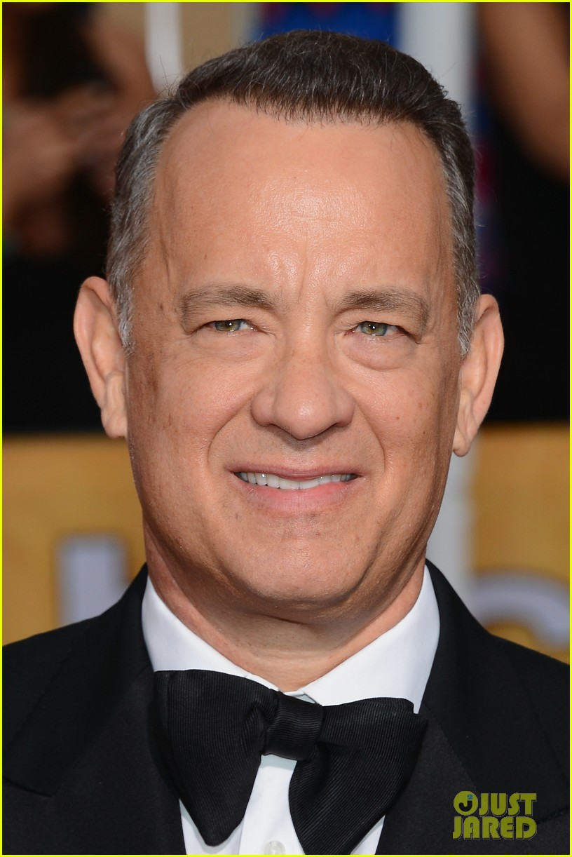 tom hanks sag awards 2014 red carpet with rita wilson 06