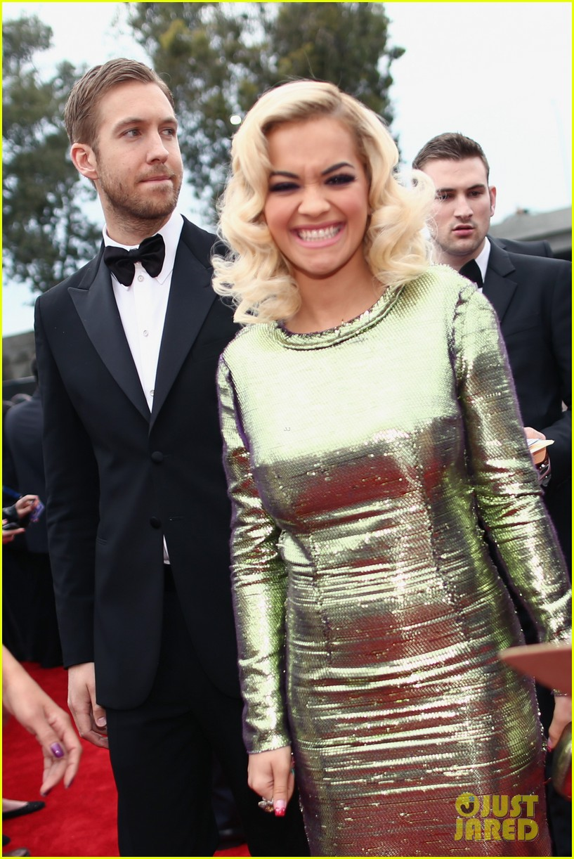 calvin harris grammys 2014 with rita ora 06