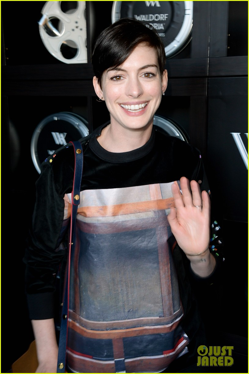 anne hathaway song one sundance premiere 08