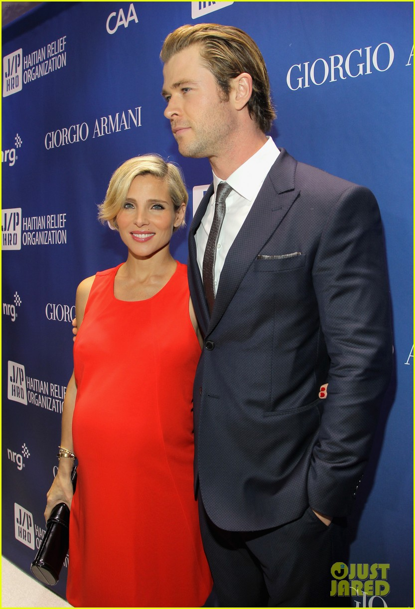 chris hemsworth elsa pataky help haiti home gala 2014 10