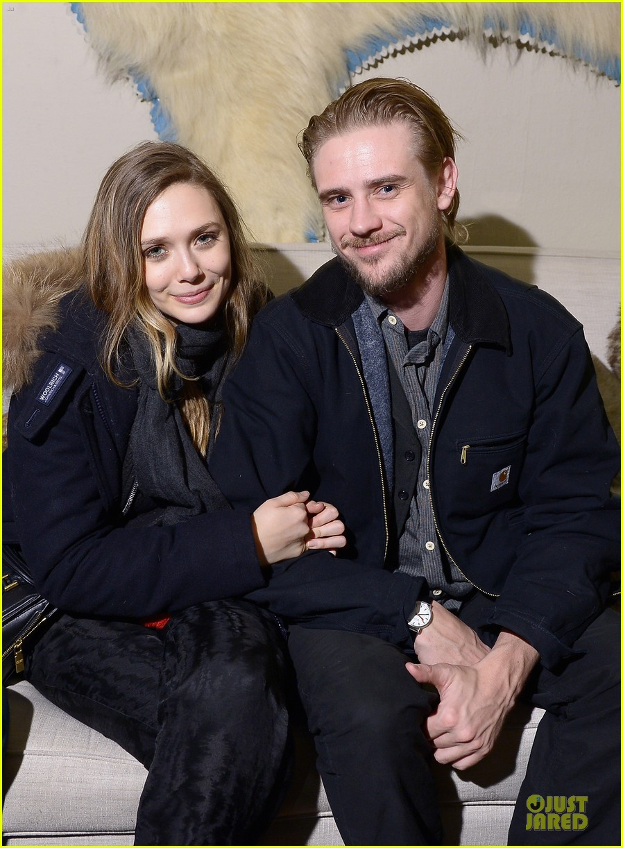 boyd holbrook elizabeth olsen meet up after little accidents premiere 043038278