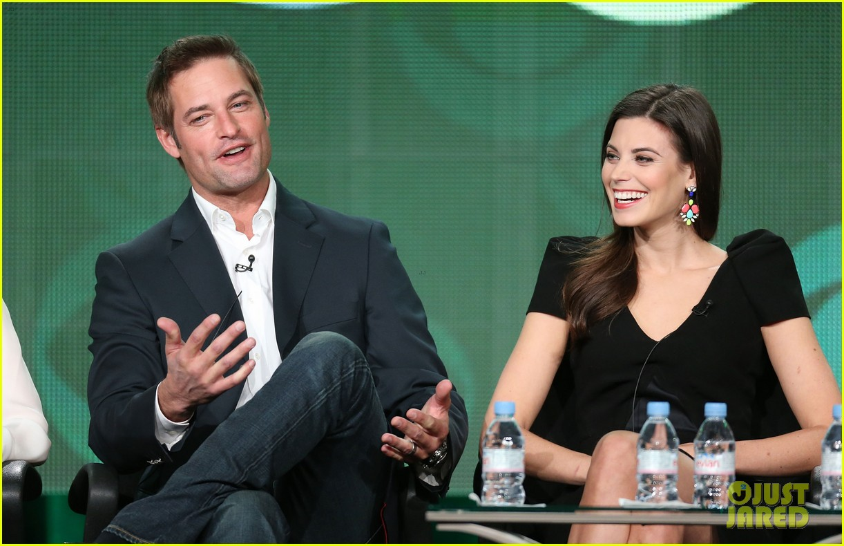 josh holloway meghan ory intelligence panel at tca tour 08