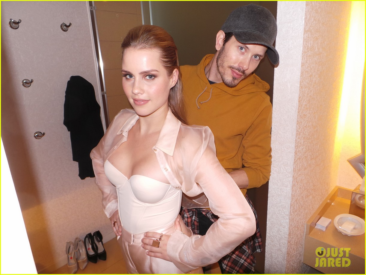 claire holt jj spotlight behind the scenes pics exclusive 08