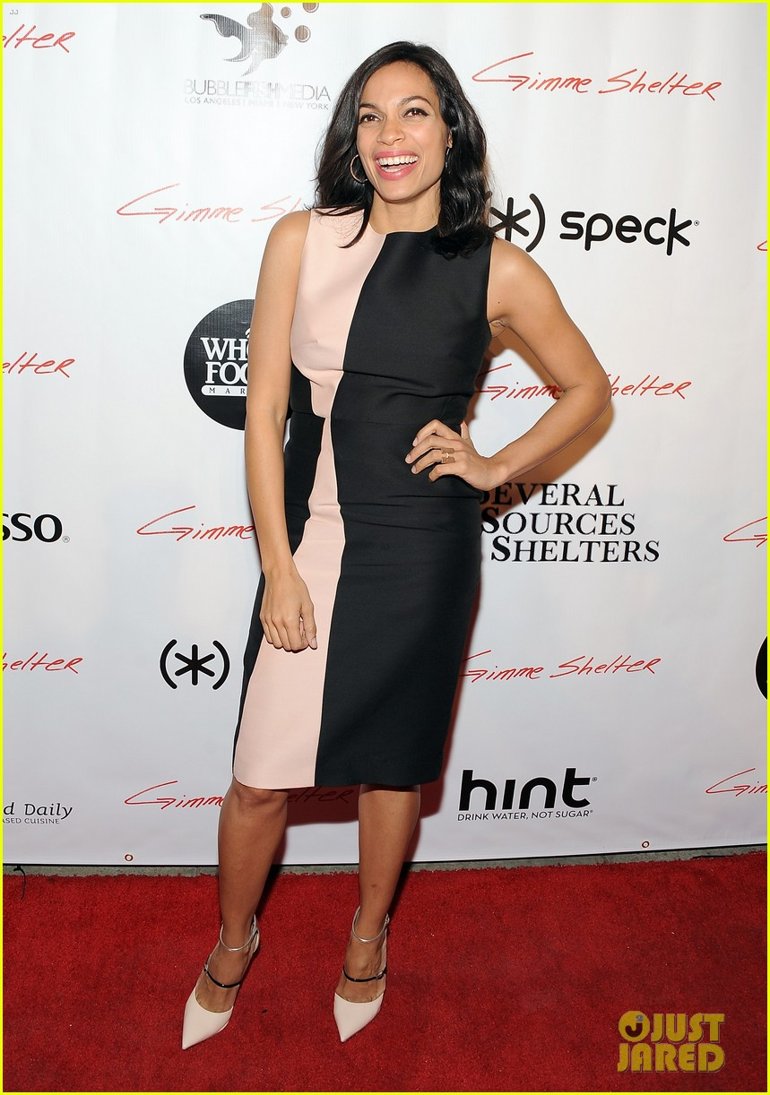 vanessa hudgens rosario dawson gimme shelter hollywood premiere 11