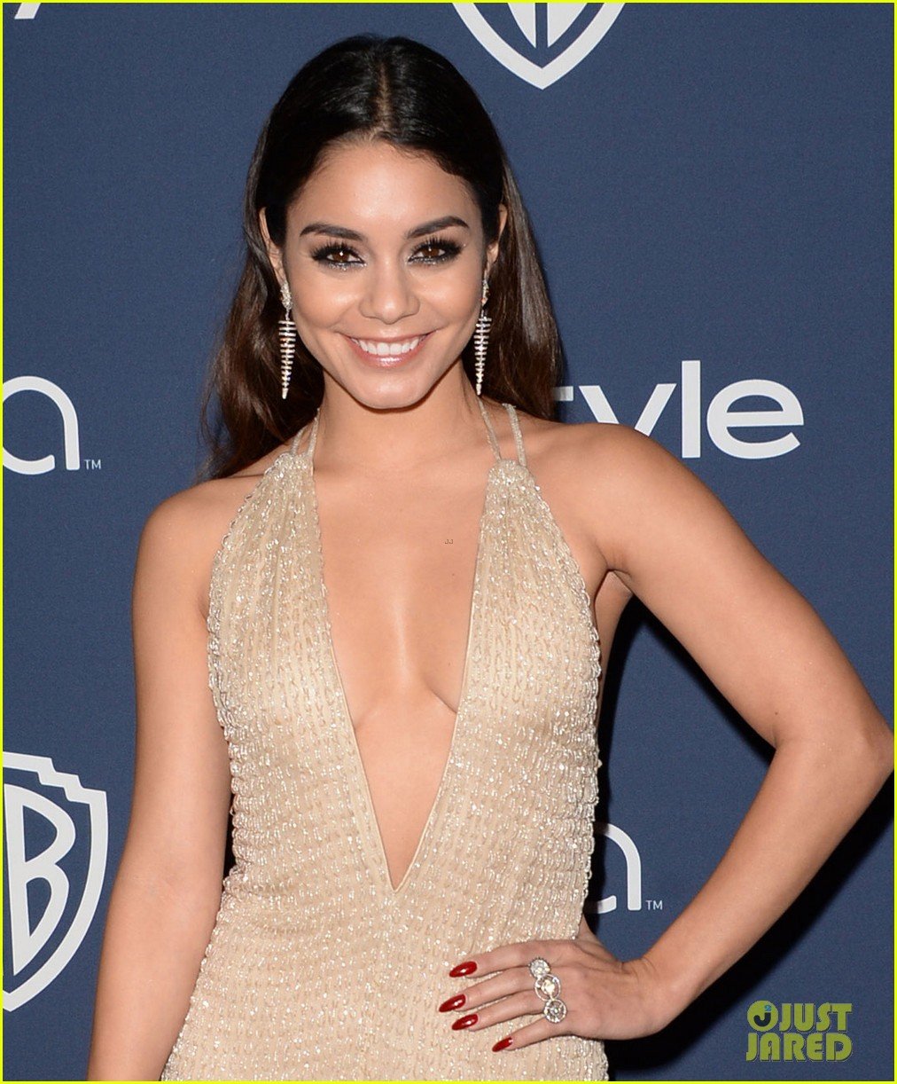 vanessa hudgens instyle golden globes party 2014 013029770
