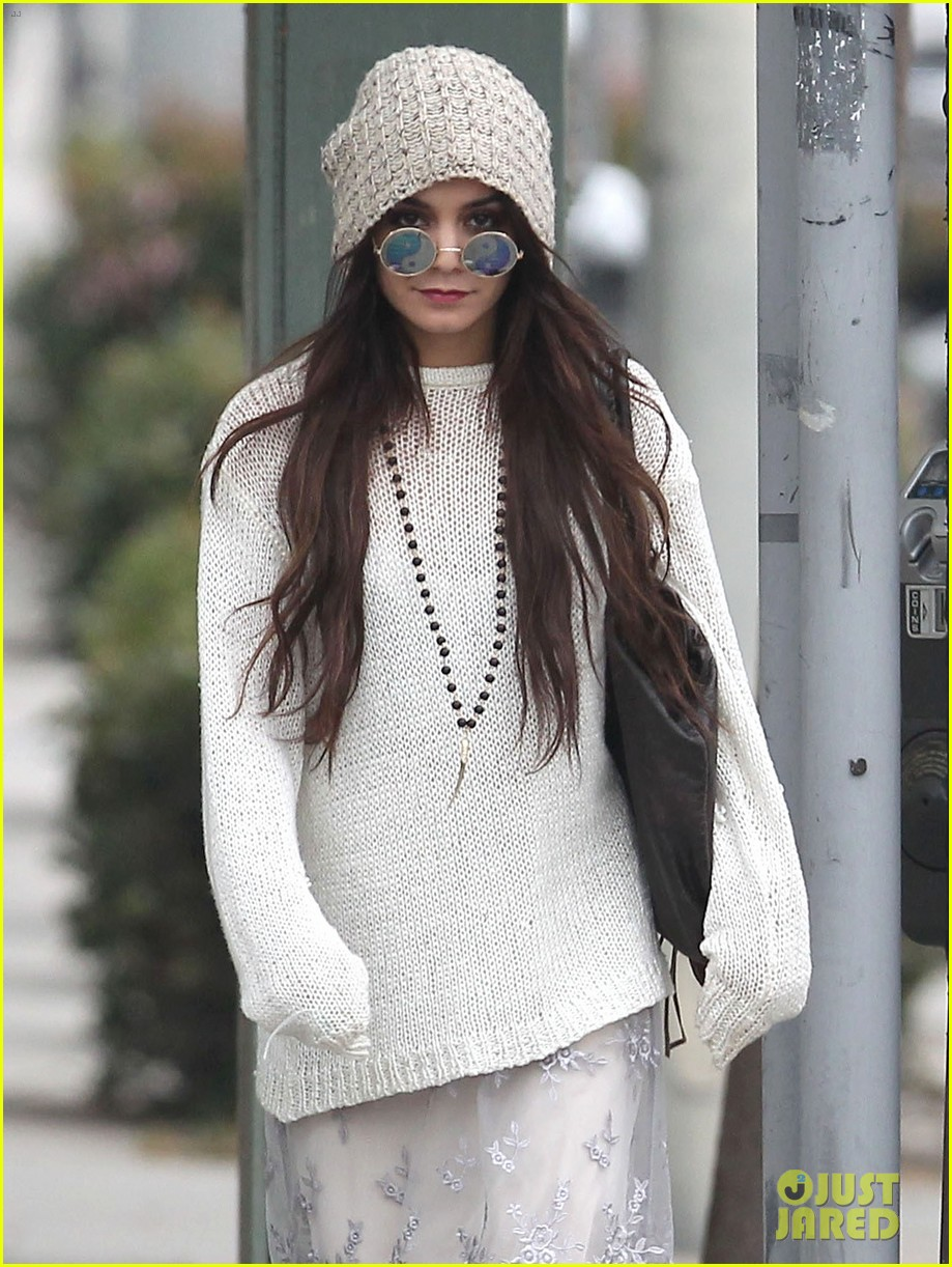 vanessa hudgens channels yoko ono in boho sunglasses 023044599