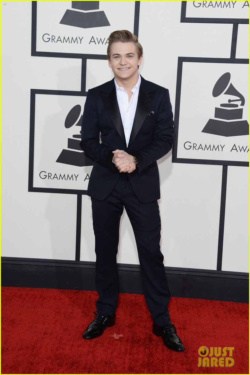 hunter hayes grammys 2014 red carpet 02