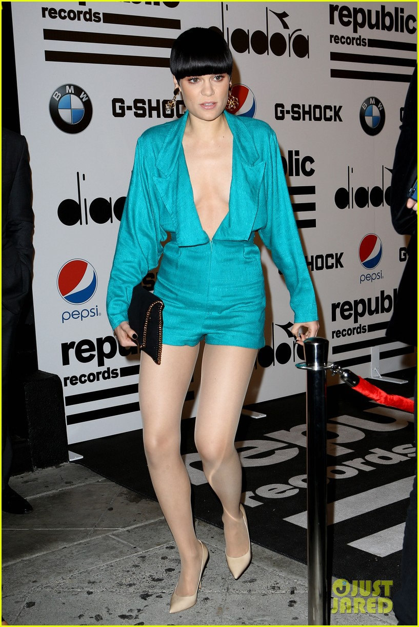 jessie j republic records grammys 2014 after party 093041997