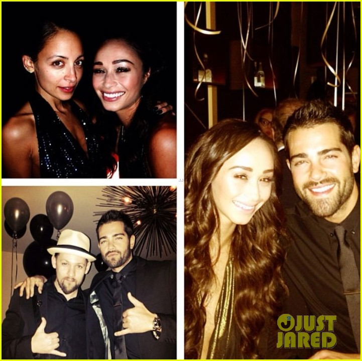 joe jonas jesse metcalfe new years eve party with their lady loves 05