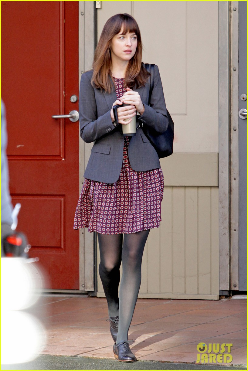 dakota johnson shoots fifty shades scenes with max martini 033033147