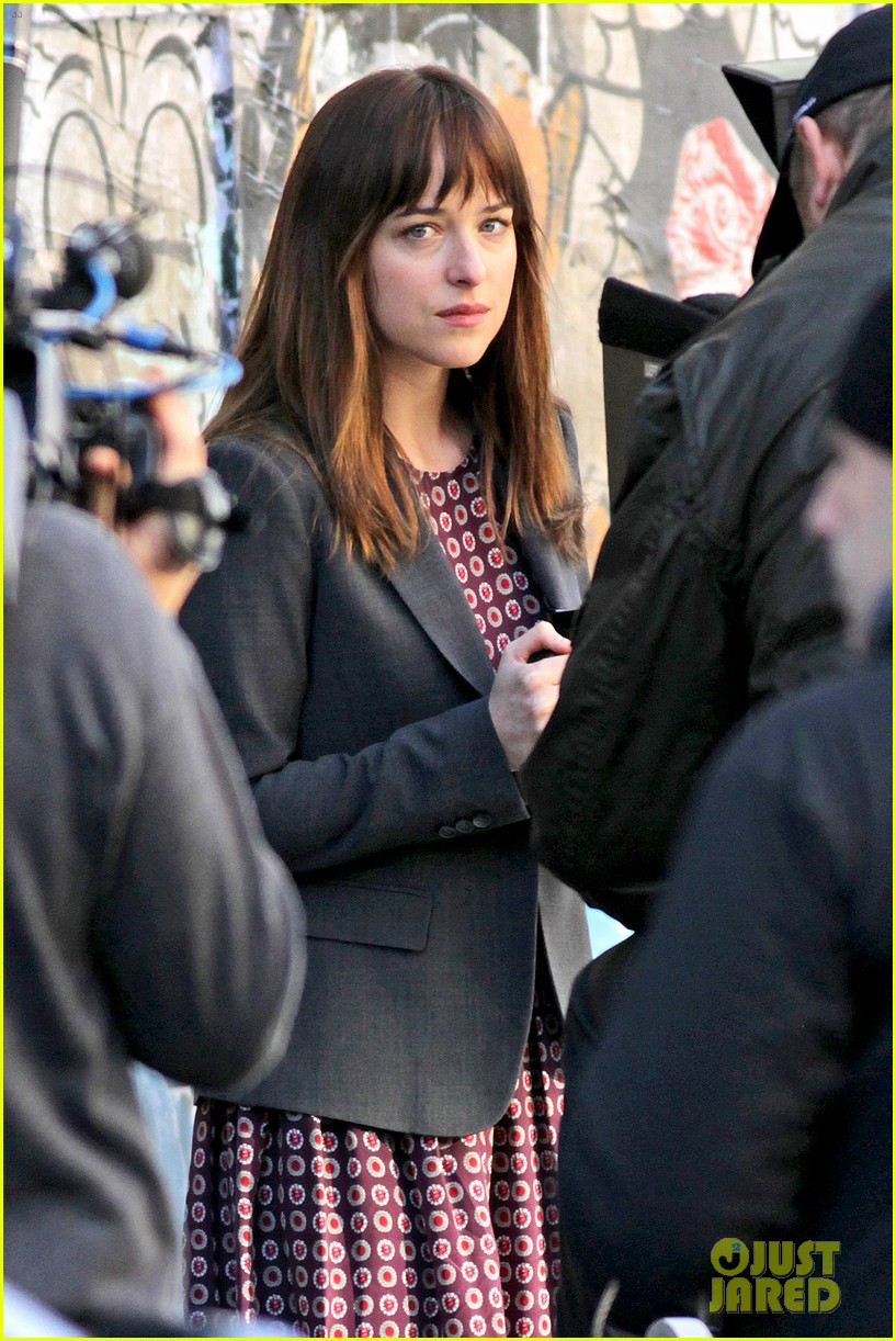 dakota johnson shoots fifty shades scenes with max martini 15