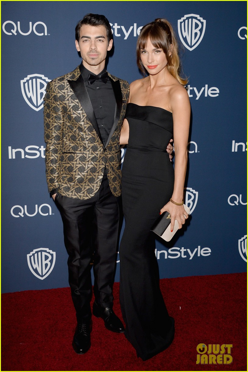 joe nick jonas bring girlfriends to golden globes parties 2014 063030191