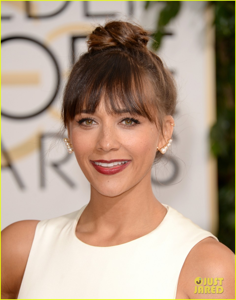 rashida jones golden globes 2014 red carpet 073029383