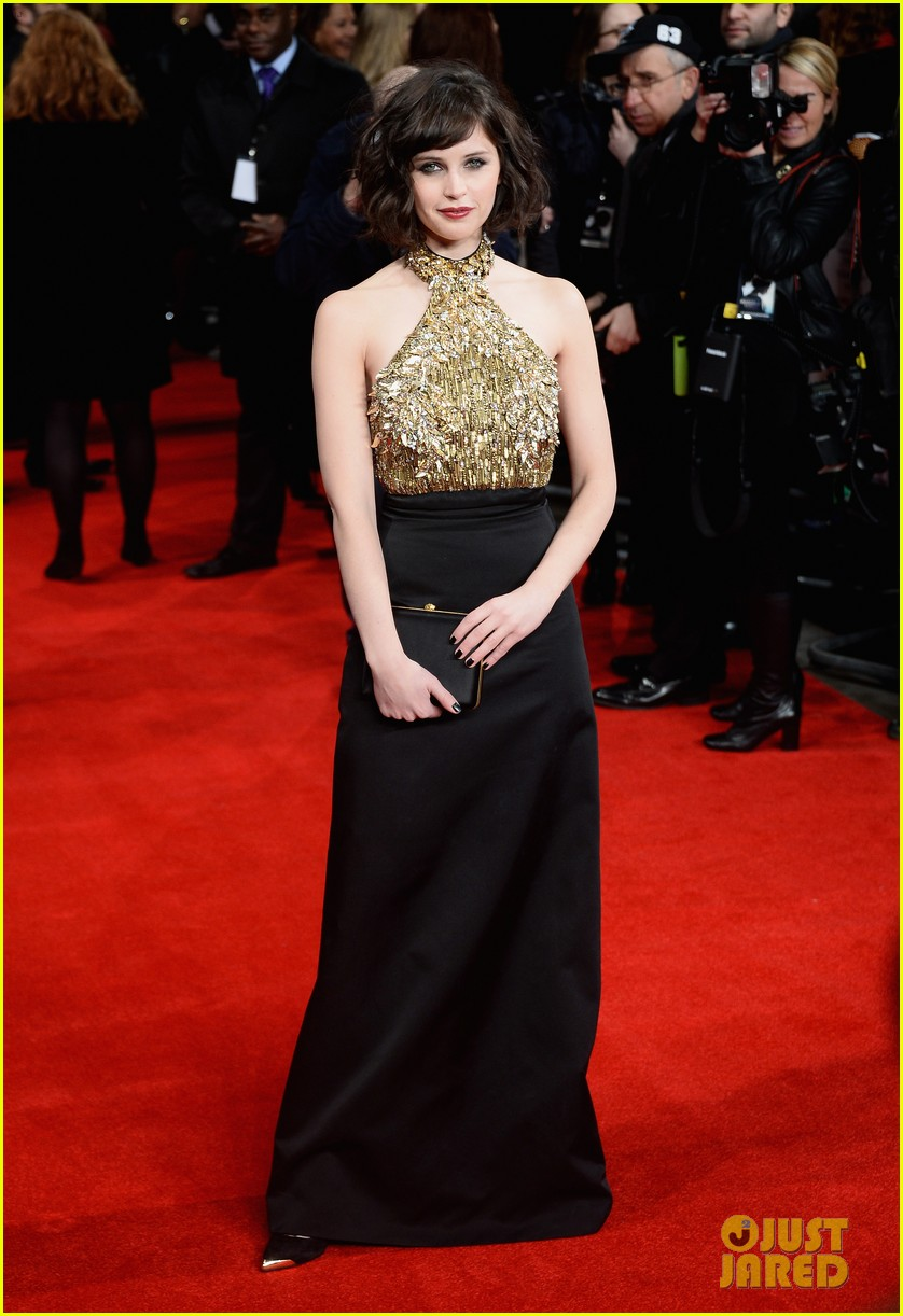 felicity jones ralph fiennes invisible woman uk premiere 15
