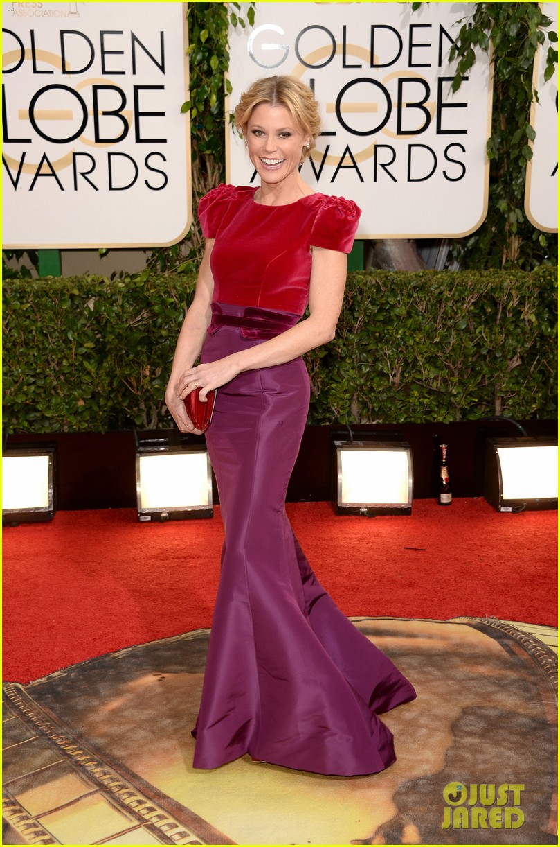 julie bowen golden globes 2014 red carpet 02