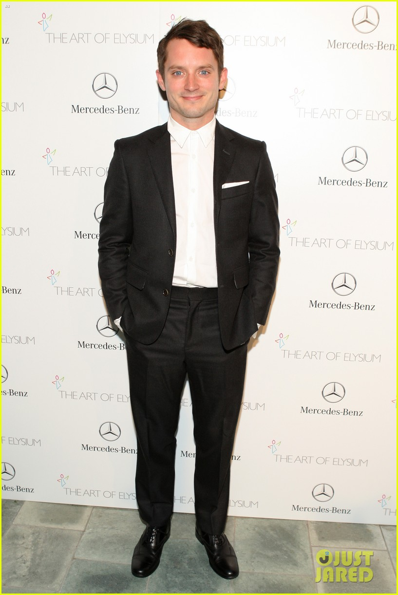 justin bartha elijah wood art of elysium heaven gala 08