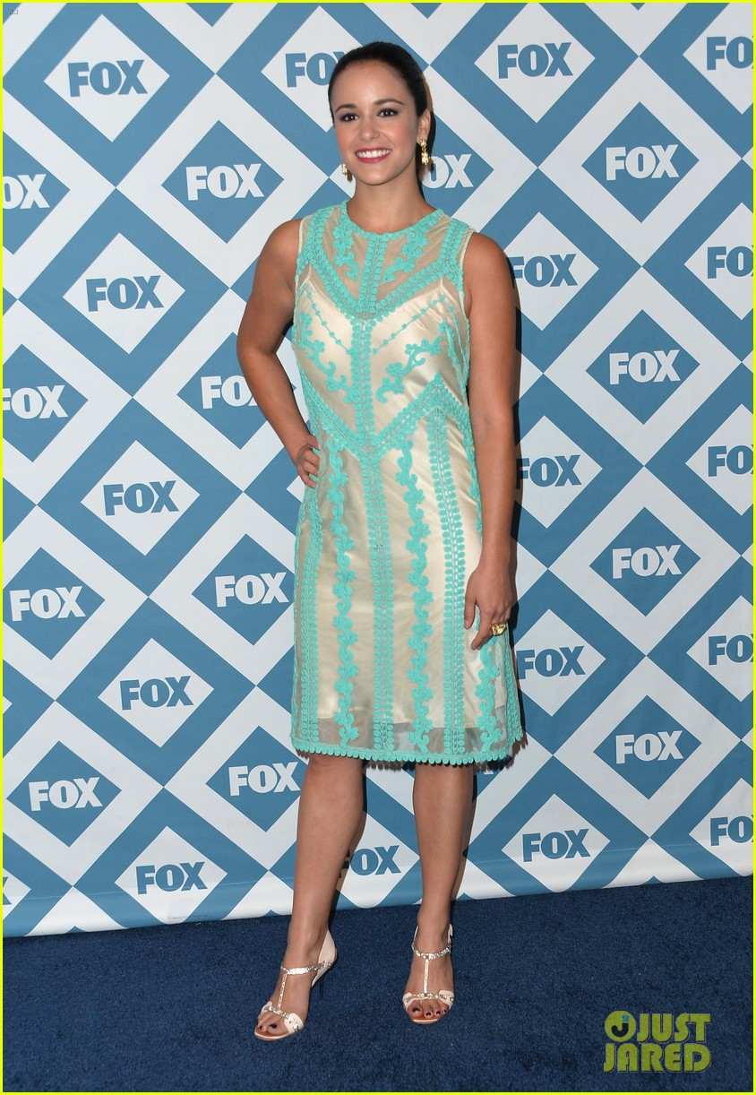 mindy kaling judy greer fox all star party 2014 413031046