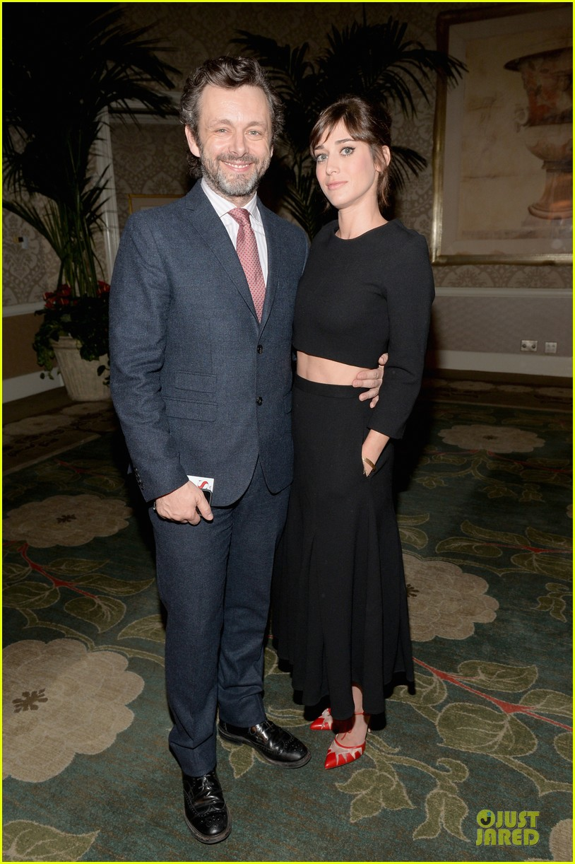 lizzy kaplan michael sheen afi awards 2014 03