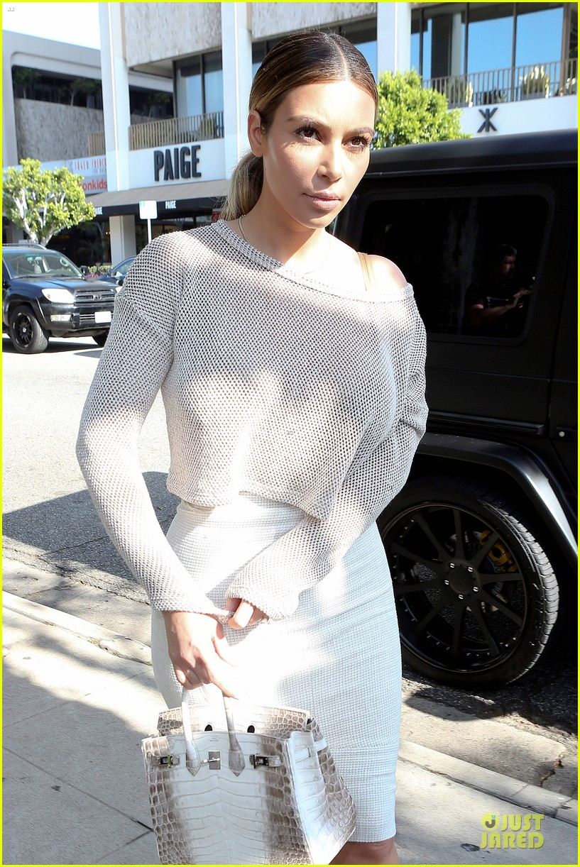 kim kardashian kanye west bright saturday outings 22