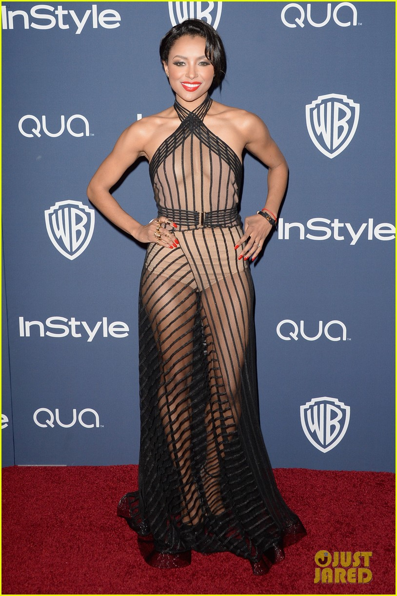 kat graham sheer golden globes claire holt 06