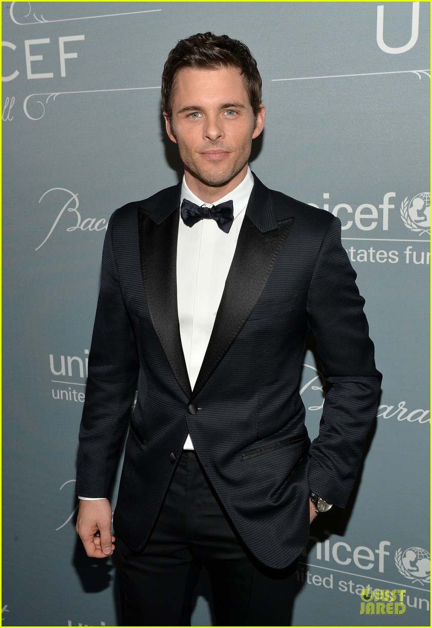 anna kendrick james marsden unicef ball 2014 06
