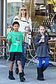 heidi klum grabs coffee before jag gym stop with the kids 19