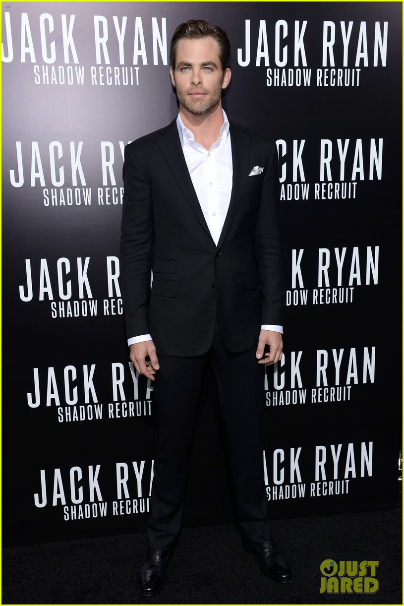 chris pine keira knightley jack ryan hollywood premiere 113032384