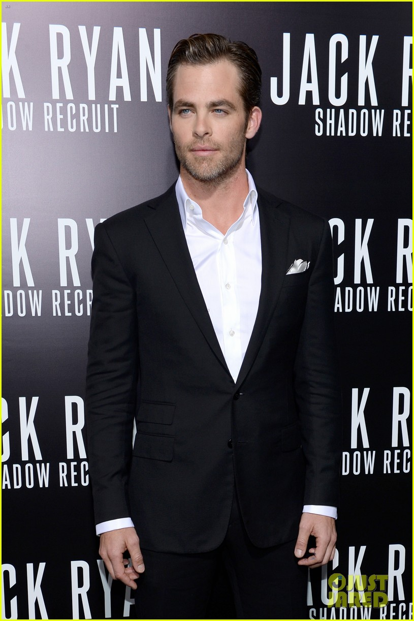chris pine keira knightley jack ryan hollywood premiere 13