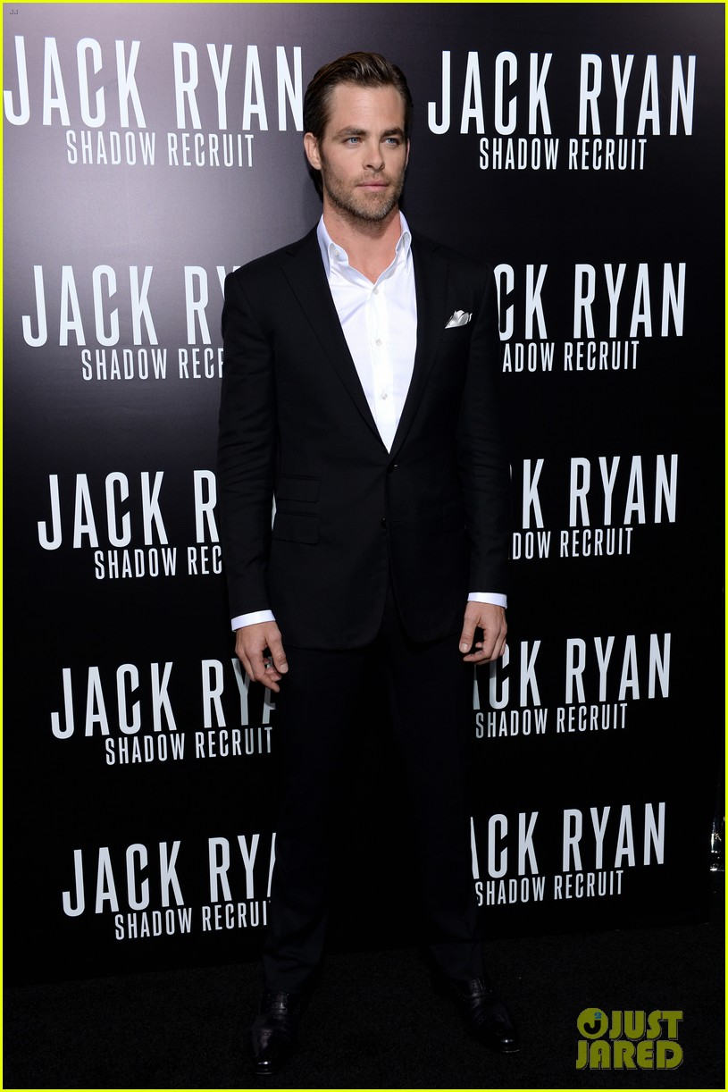 chris pine keira knightley jack ryan hollywood premiere 25