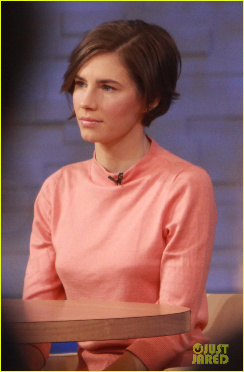 amanda knox on gma i will never go back to italy 033044855