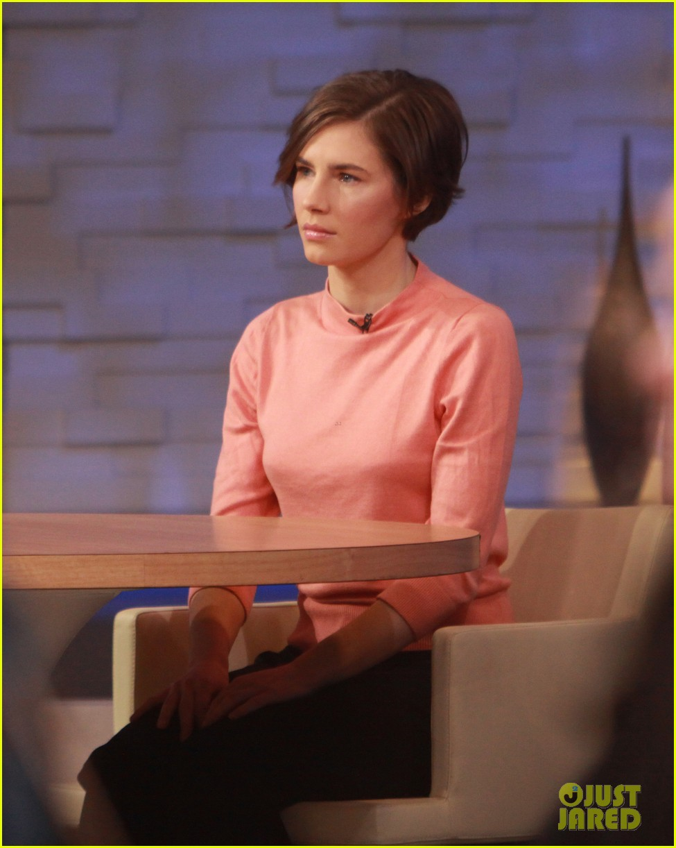 amanda knox on gma i will never go back to italy 10