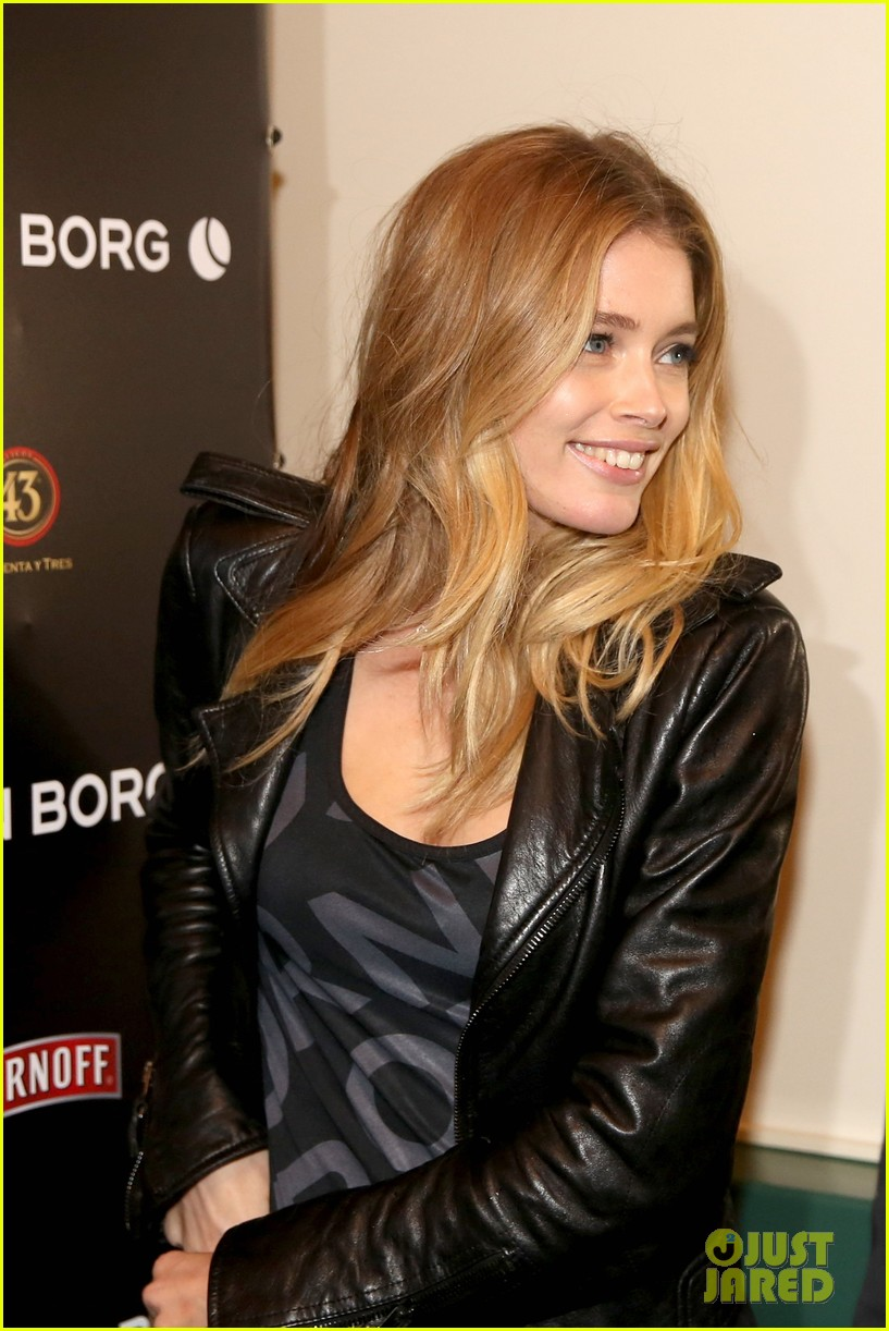doutzen kroes bjorn borg fashion show 12