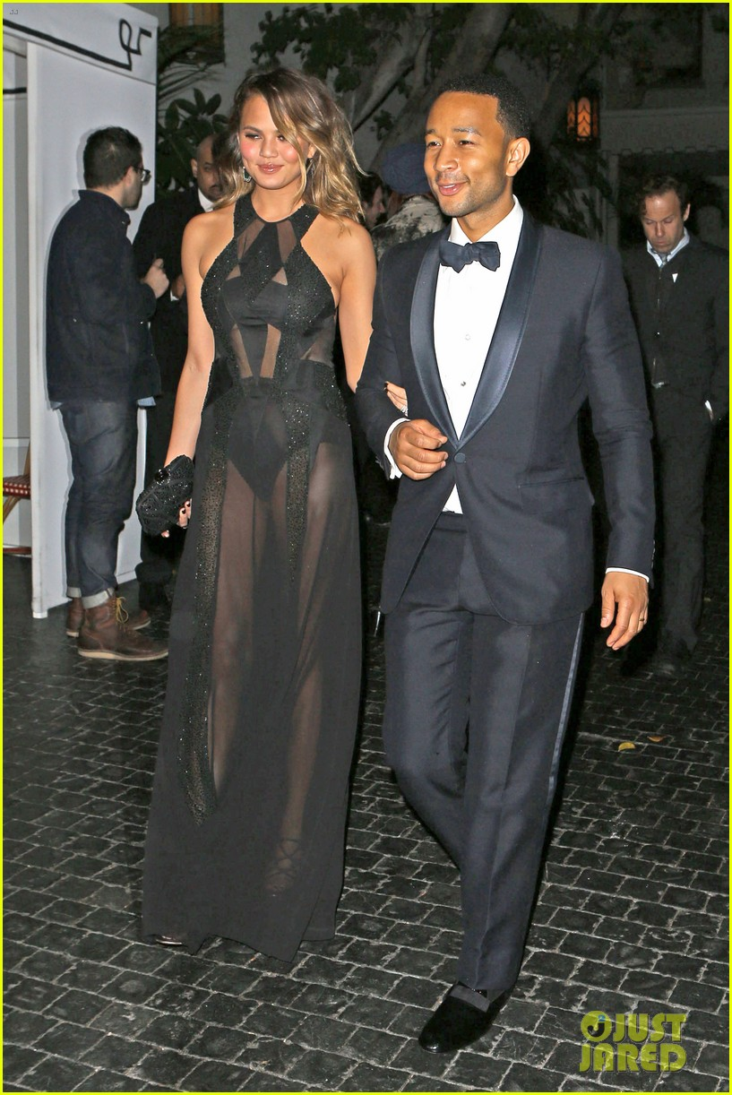 john legend chrissy teigen grammys 2014 after party 033041926