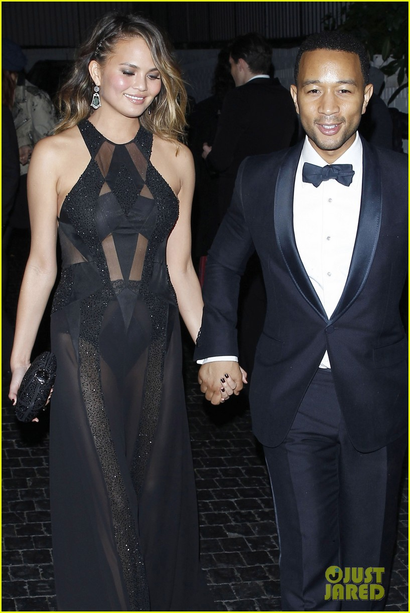john legend chrissy teigen grammys 2014 after party 08