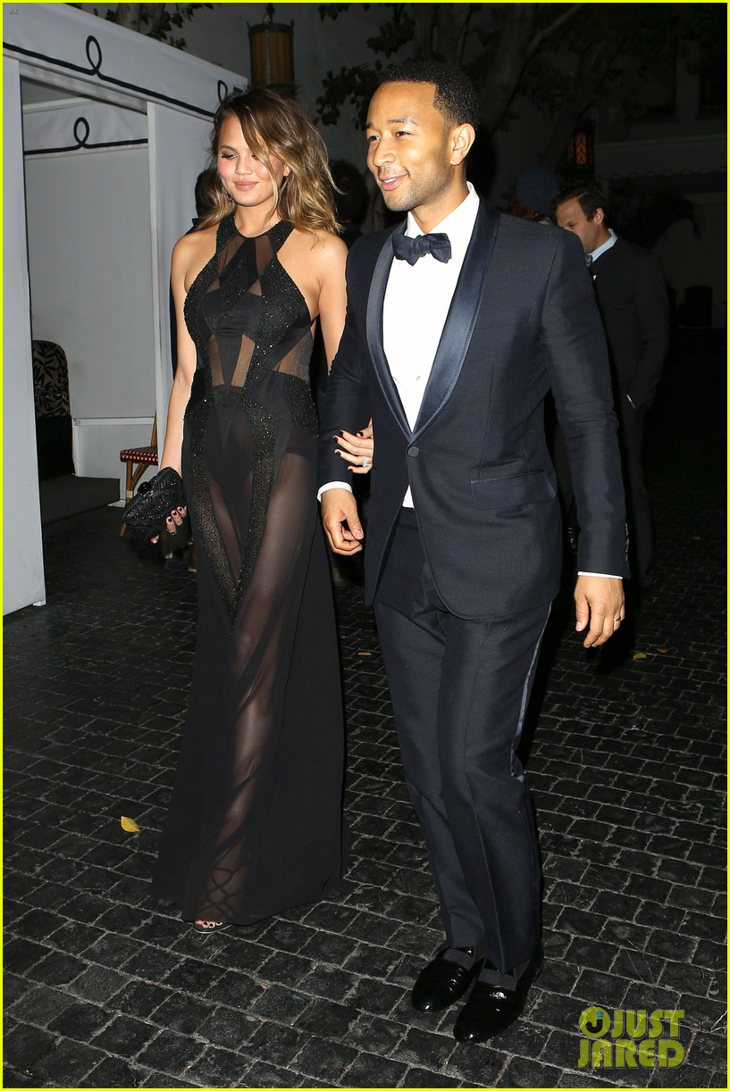 john legend chrissy teigen grammys 2014 after party 13