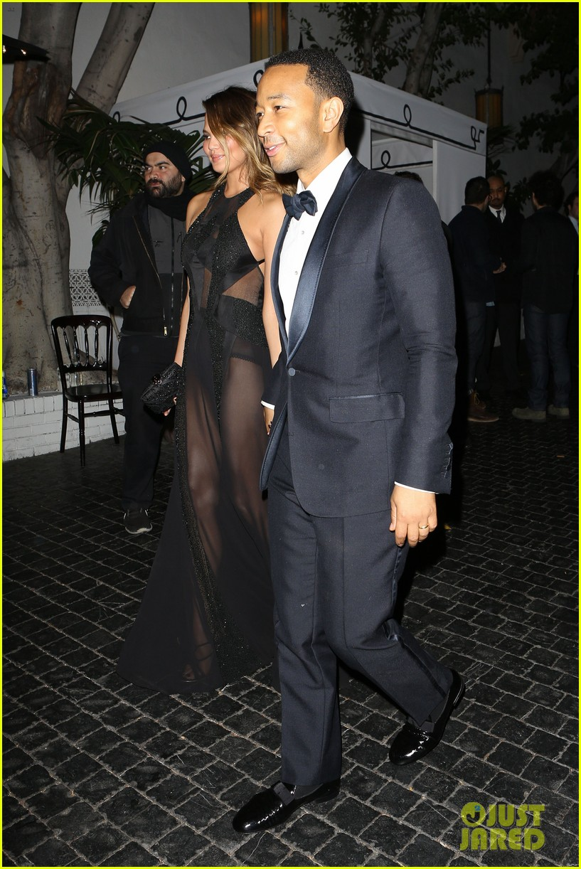 john legend chrissy teigen grammys 2014 after party 183041941