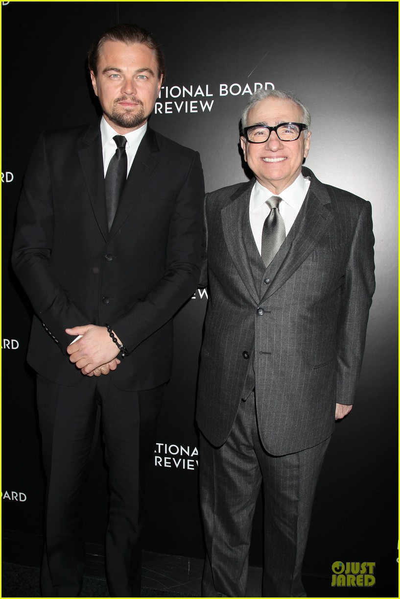 leonardo dicaprio national broad of review awards gala 2014 06