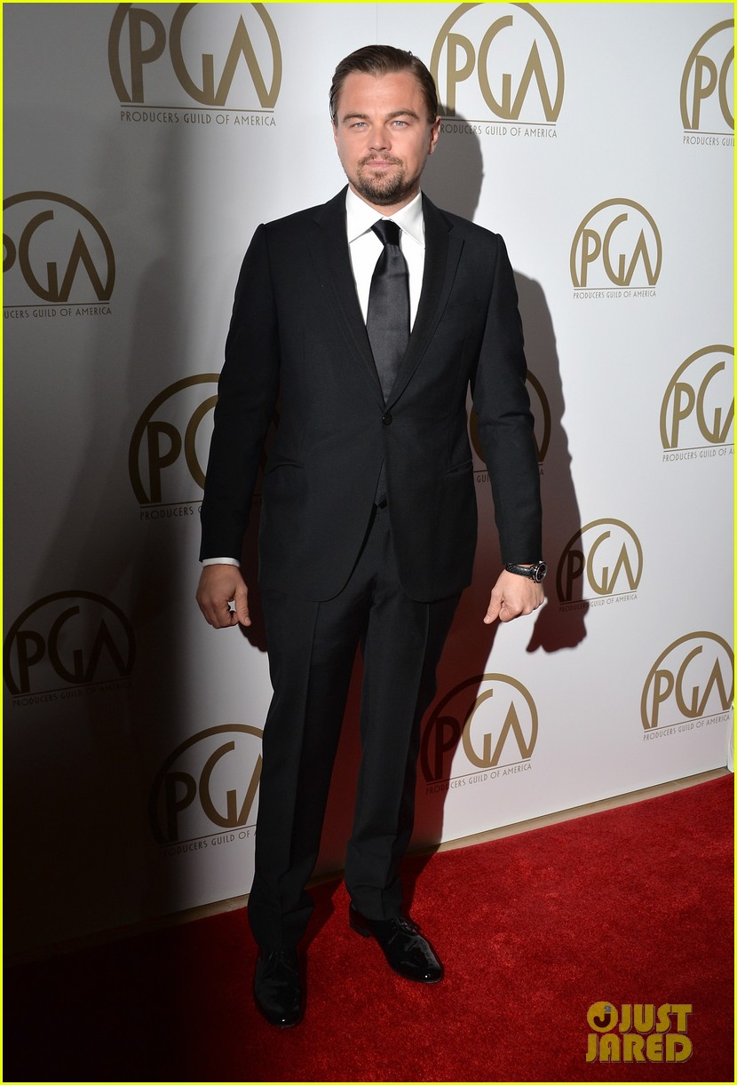 leonardo dicaprio producers guild awards 2014 04